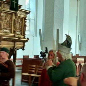 Middelalderkoncert i Stege Kirke