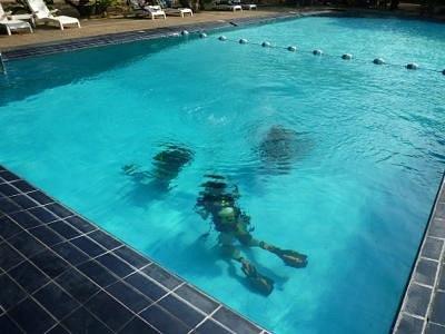 initiation en piscine