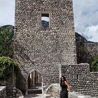 Porta di San Genesio sulle mura di Venzone