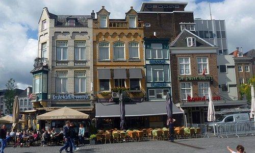 Market Square open air bar.