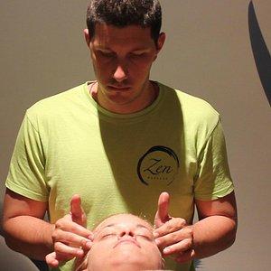 ayurvedas head  massage