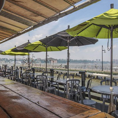 Some Seating at Pier 66 Maritime