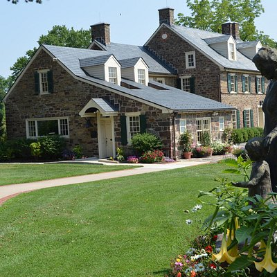 The Bucks County, PA home of Pearl S. Buck is situated on 68 acres.