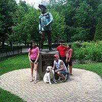 Scarecrow at Dog-Friendly OZ Park
