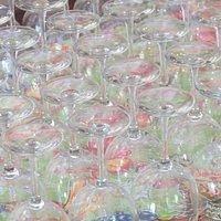 The wine glasses