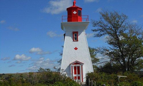 Lighthouse at Victoria, PEI