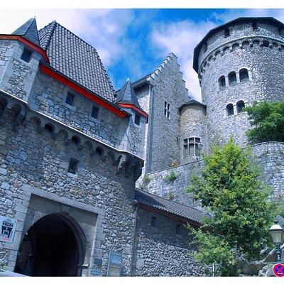 Die schöne Burg in Stolberg/ Rheinland.