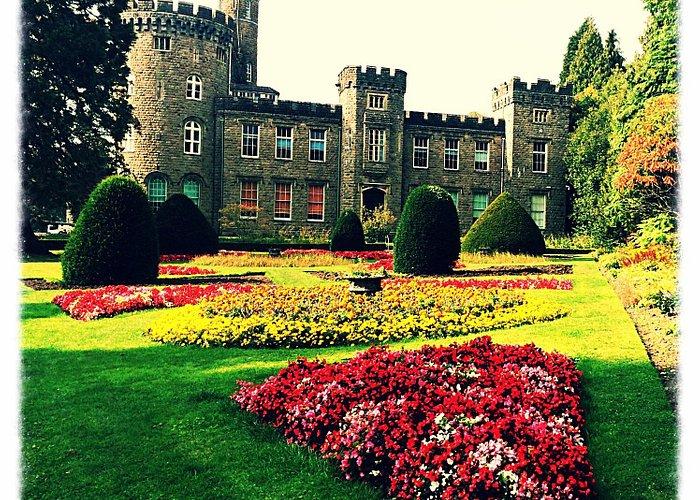 Lovely grounds around Cyfarthfa Castle