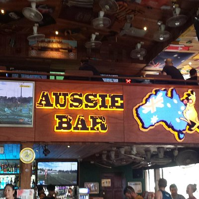 good old Aussie Bar