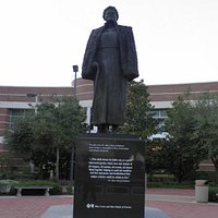 Bethune Statue in front of the Performing Arts Center