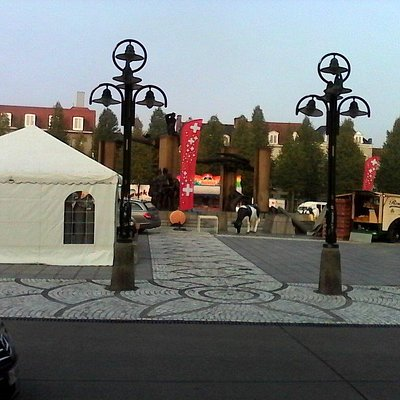 Le marché sur la place T'Zand