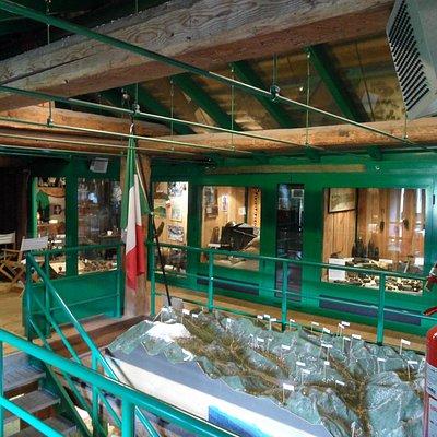 Piano superiore del museo