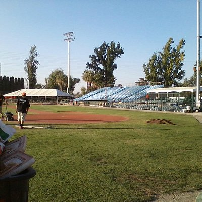View of 1st base seating & Blaze dugout