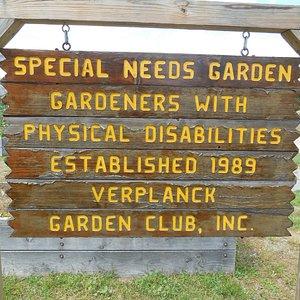 Special Needs Garden
