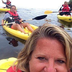 Floating selfie! Scarborough ME marsh