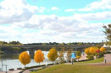 Fall at River Landing