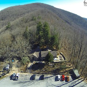 Aerial View of Mountain Crossings- Leveland Mtn in background