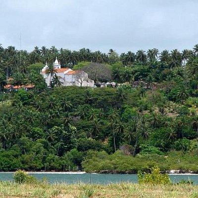 Vila Velha seen from the mainland