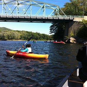 On the Androscoggin river near Gilead, Maine