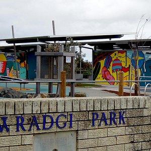 Towradgi Beach Park playground