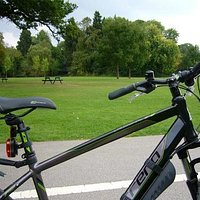 Cycling in Brueton Park