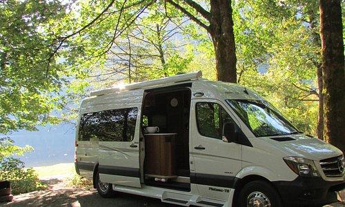 Camping on Deer Lake