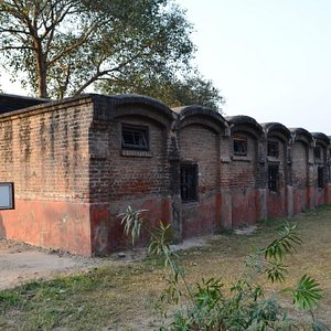 Barracks where the INA heroes were kept.