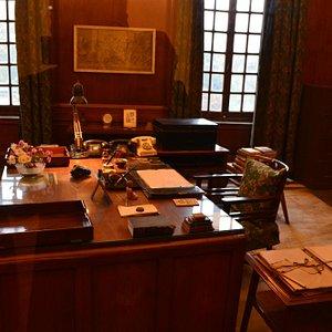 Nehru's study.
