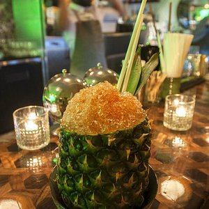 Cocktail in a Pineapple