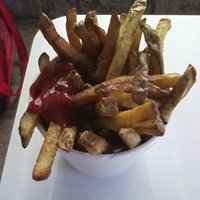 Medium Fries with some Ketchup