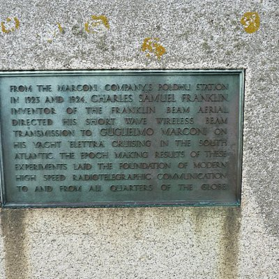 Inscription on Marconi Monument
