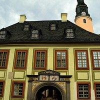 Entrance to Schloss Weesenstein