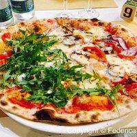 Pizza vegetale + cipolla di Tropea e scamorza