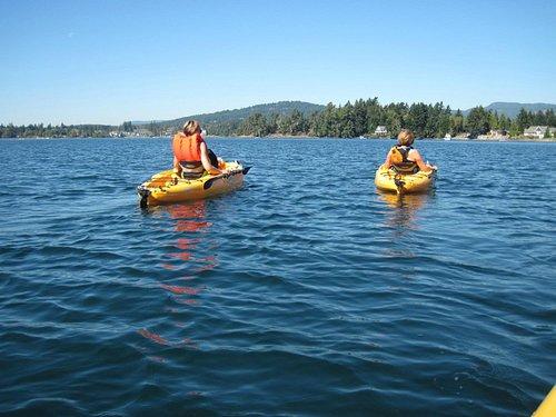 Fellow kayakers