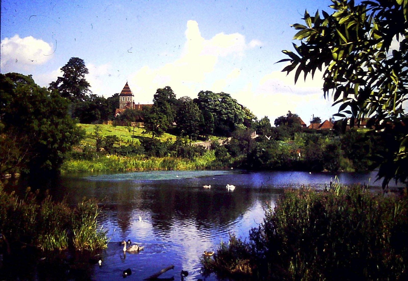 Stonebridge Pond & Davington's 1153 Priory Church