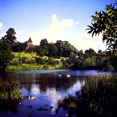 Stonebridge Pond & Davington's 1153 Priory Church