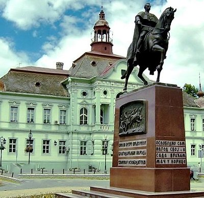 King Peter in Zrenjanin
