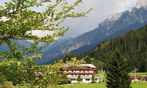 L'hotel sul Piave