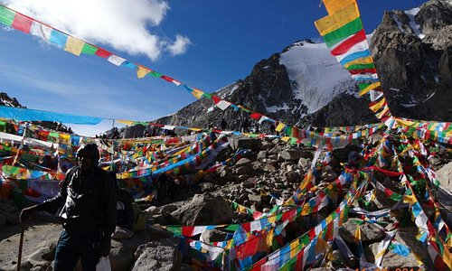 5500m Blissful pass ...
