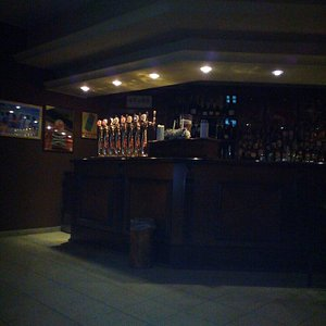 Il bancone del bar