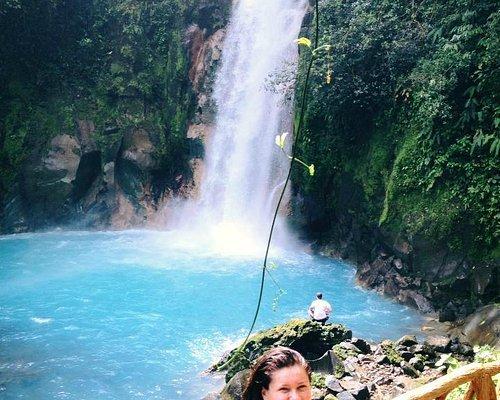 Blue River Waterfall