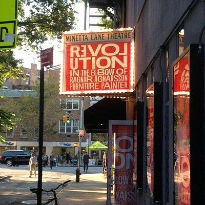 Minetta Lane Theatre - Revolution In The Elbow