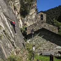 Escalada en Sant Antoni de la Grella
