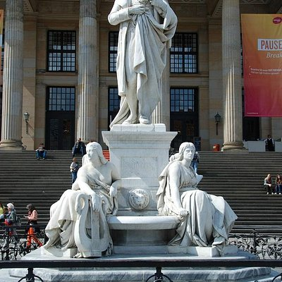 Schiller Monument at Gendarmenmarkt