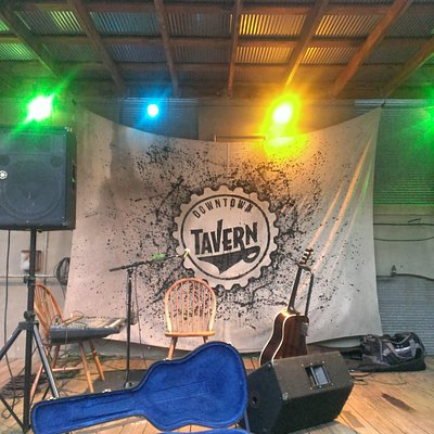 the Tavern's Patio Stage