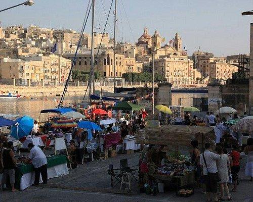 Open air market, the Maltese way
