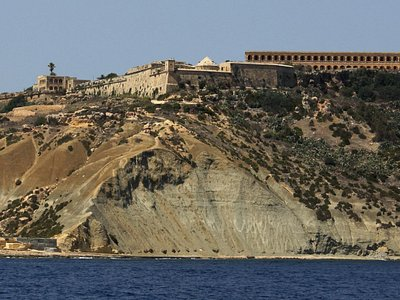 Fort Chambray from the sea