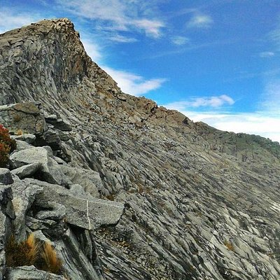 View of the peak