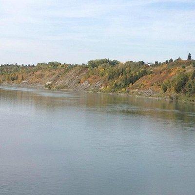 View of North Saskatchewan River from Pedestrian Bridge