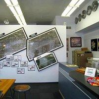 inside the Berwyn Route 66 Museum